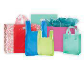 Colored Shopping Bags for Retail