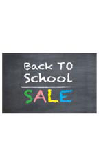 Medium Back to School Sale - Chalkboard