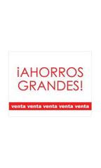 Small Ahorros Grandes! Sign Card