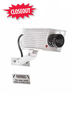 Mini Simulated Video Surveillance Camera With Red