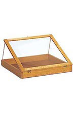 Pine Wood Countertop Display Cases - Large