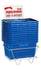 Set of 12 Shopping Baskets