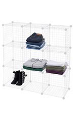 Cube Mini Grid Displays - White