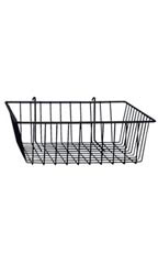 Mini Gridwall Basket - Black