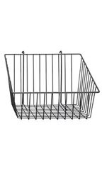 Black Mini-Grid Baskets