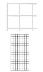 2' x 4' White Gridwall Panel