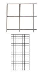 Raw Steel Wire Gridwall Panels