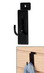 Slatwall Display Hook - Black