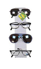 4 Pair Countertop Eyeglass/Sunglass Easels