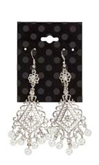 Black Dots Earring Cards