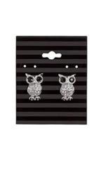 Black Stripes Earring Card