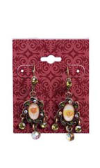 Exotic Brick Earring Card