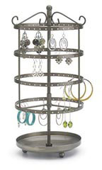 DBX-13: Small Tiered Jewelry Carousel - 55432