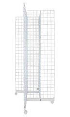 White 4-Way Grid Towers - 6.5