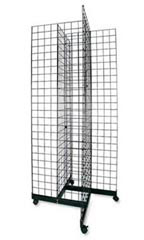 Black 4-Way Grid Towers - 6.5'