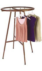 Boutique Cobblestone Round Garment Rack