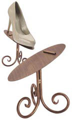 "6"" Cobblestone Shoe Display Stand"