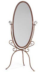 Boutique Cheval Floor Mirror – Cobblestone