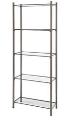 Raw Steel Etagere