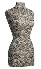Black Lace Dressmaker Form Only