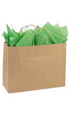 Large Recycled Kraft Paper Shopper