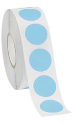 Blue Self-Adhesive Colored Label