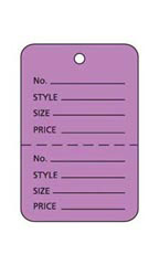 Lavender Unstrung Small Coupon Price Tag