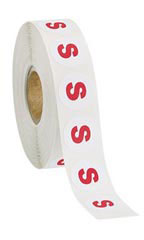Self-Adhesive Round Size Labels Size Small