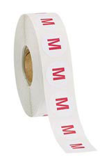 Self-Adhesive Round Size Labels Size Medium