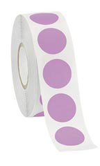 Lavender Self-Adhesive Colored Label
