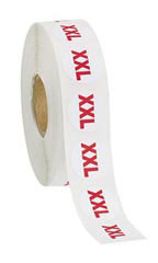 Self-Adhesive Size XXL Labels