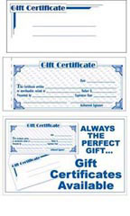 Gift Certificate Super Kit