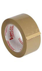 "2"" Tan Packaging Tape"