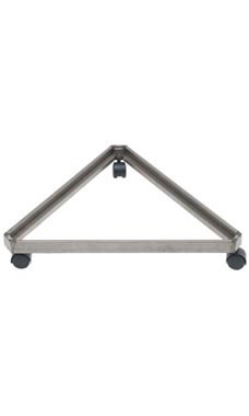 Triangular Raw Steel Grid Base