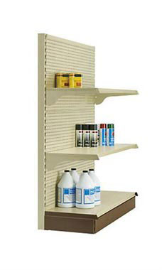 Metal Shelving Gondola End Cap Units