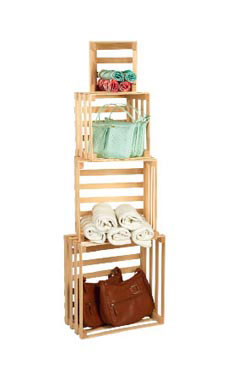 Sets Of 4 Nesting Crates
