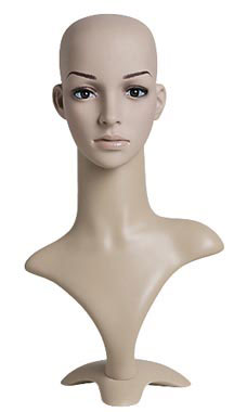 Mannequin Heads with Base