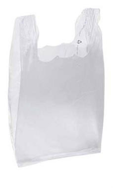 Clear Plastic Bags - Medium | Store Supply Warehouse
